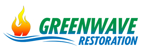 Green Wave Restoration logo